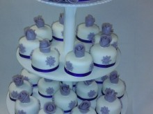 Svatební cupcak