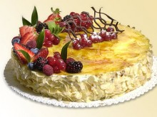 Vanilkový dort