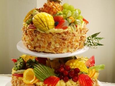 Svatební dort Exotic