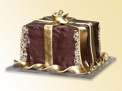 Dorty na svatbu - Slavnostní dorty - Čoko dárek