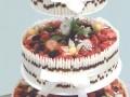 Svatební jogurtový s lesním ovocem 40 porcí