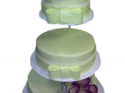 Svatební mandlový s kalou
